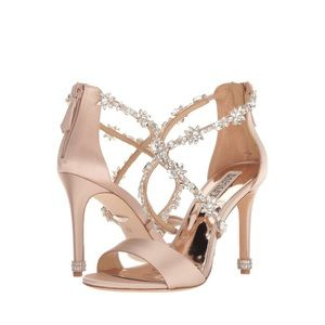 BRAND NEW Badgley Mischka Venus High Heel Sandal +